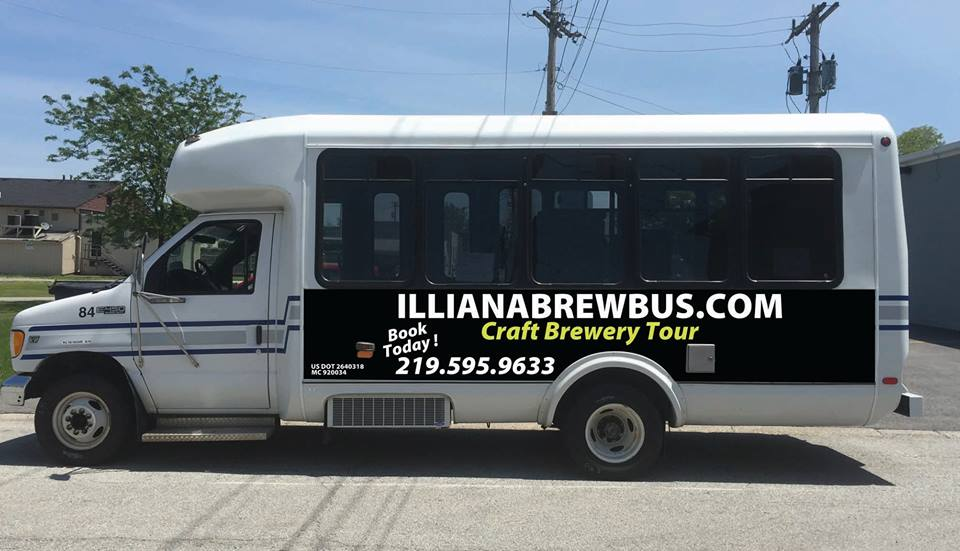 NWI Craft Beer Tours with Illiana Brew Bus