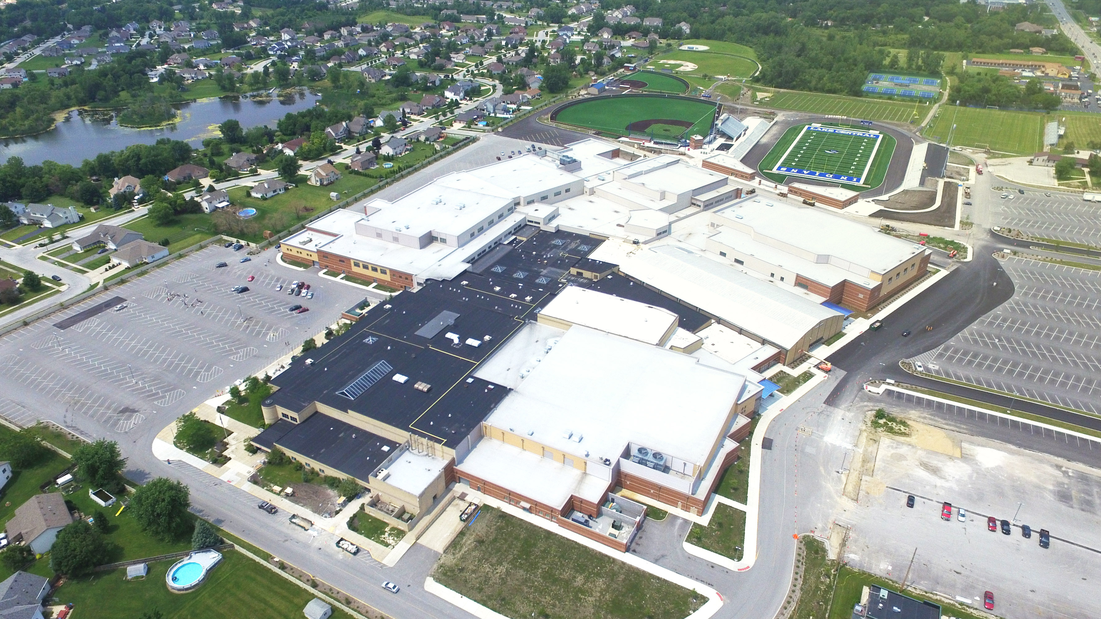 Lake Central High School Nearing Completion
