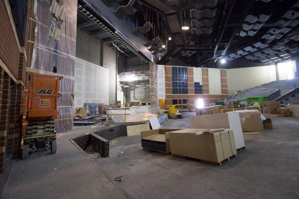 COMING SOON - New Theatre, still under construction