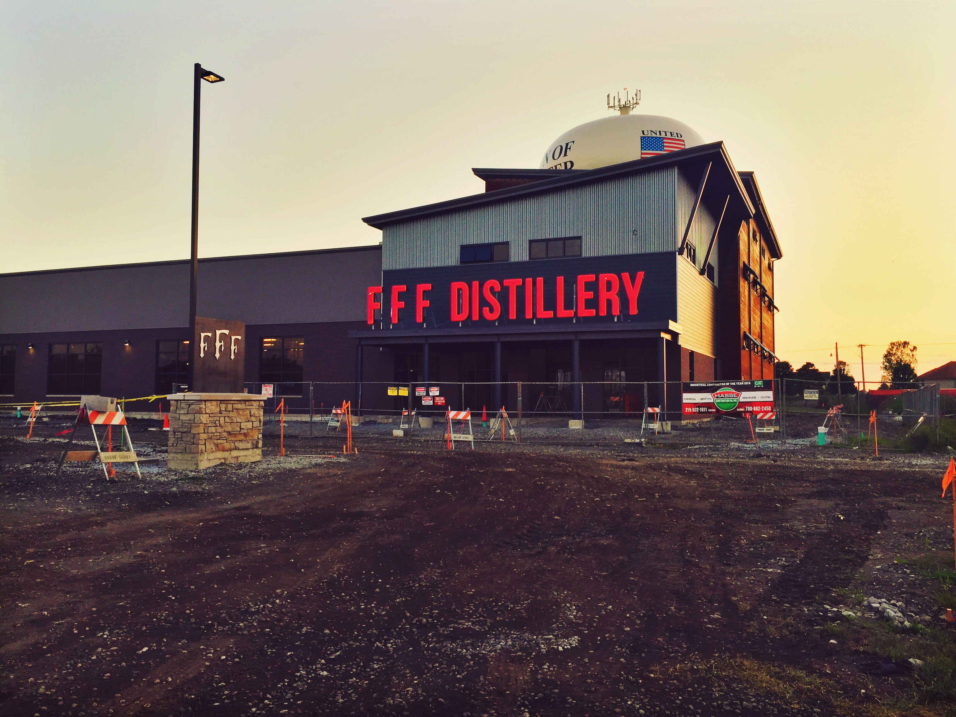 PHOTO: New Three Floyds Addition Nearing Completion