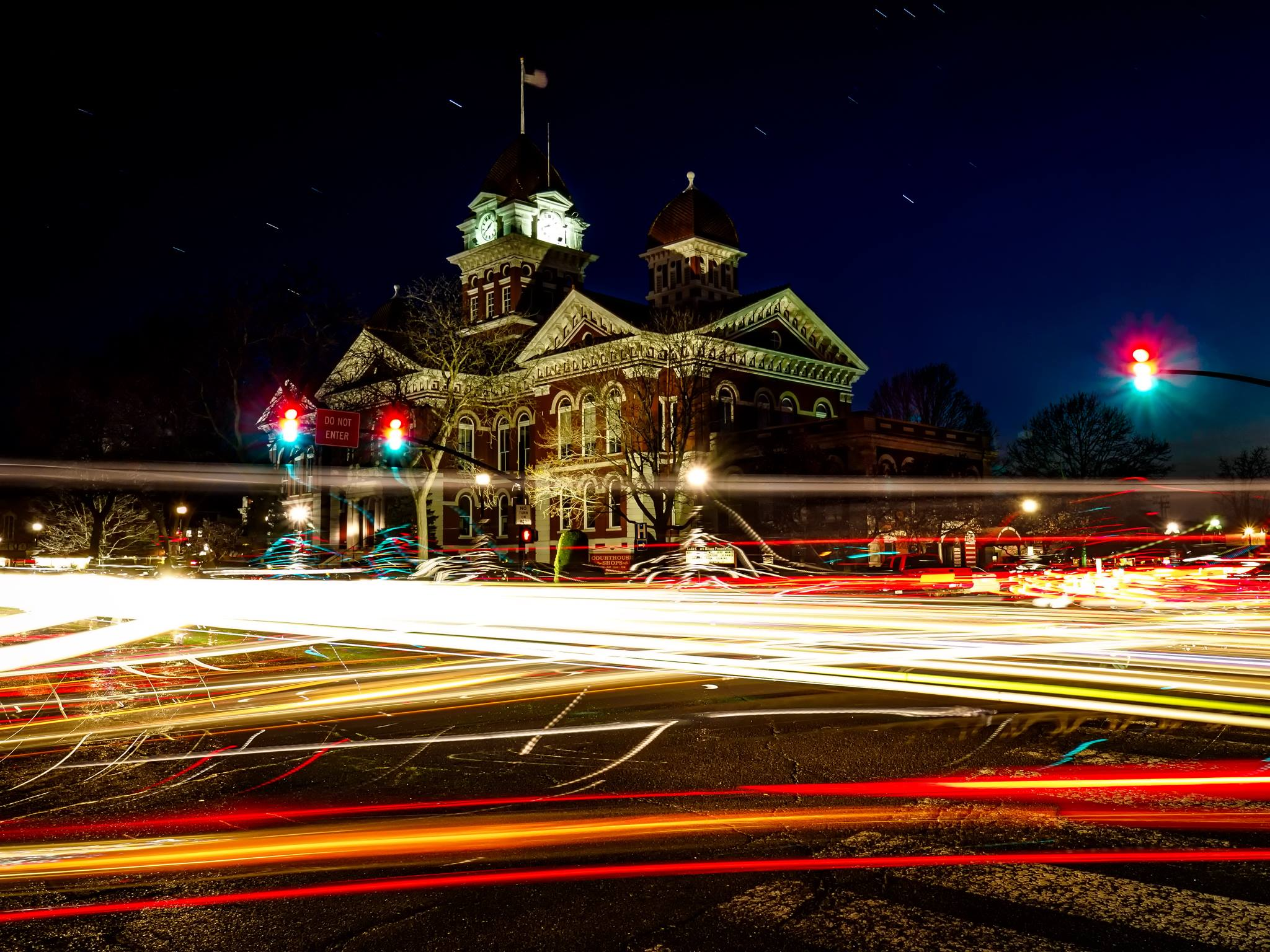 This Photo of Crown Point's Square Is a Must See!